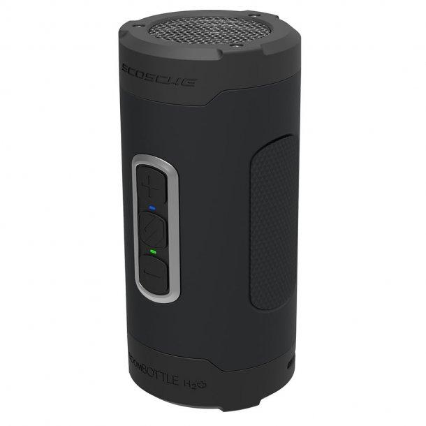 Vandtæt trådløs højttaler - sort/grå